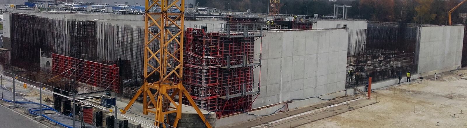 Budowa obiektów przemysłowych